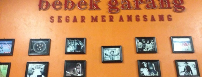 Bebek Garang is one of Food Spots @Bandung.
