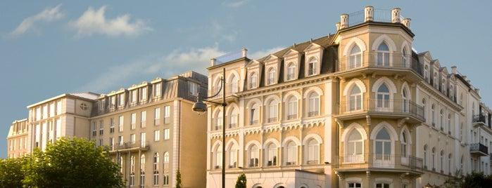 Steigenberger Hotel Bad Homburg is one of Hotel.