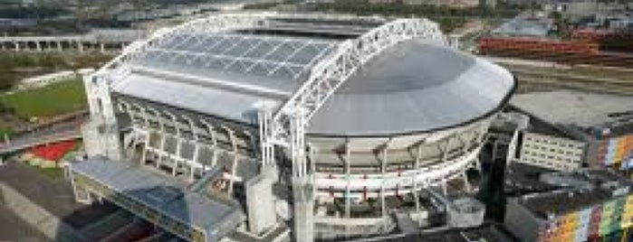 Amsterdam ArenA is one of UEFA Champions League finals.