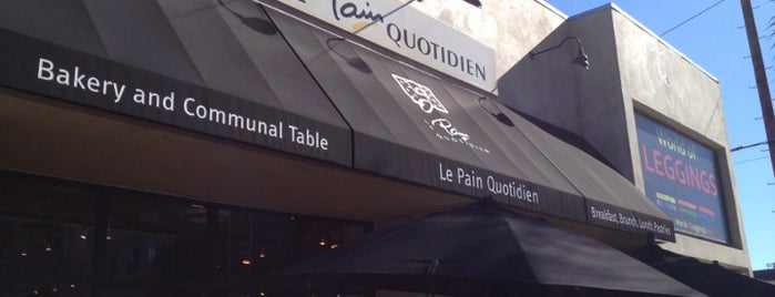 Le Pain Quotidien is one of My favorite cafes of West Los Angeles.