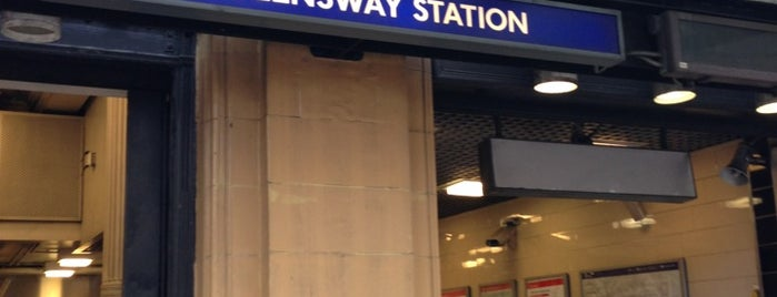 Queensway London Underground Station is one of Zone 1 Tube Challenge.