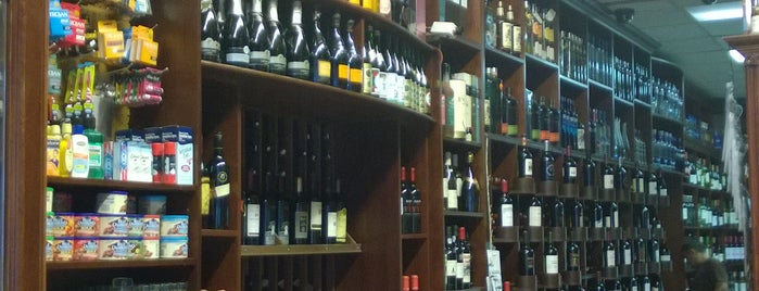 Drumm Liquor & Deli is one of places to go.