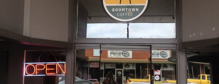 Boomtown Coffee is one of Top Picks For Coffee Houses.