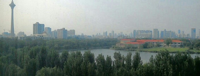 Renaissance Tianjin Lakeview Hotel is one of Ren.
