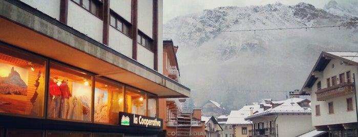Corso Italia is one of Cortina.