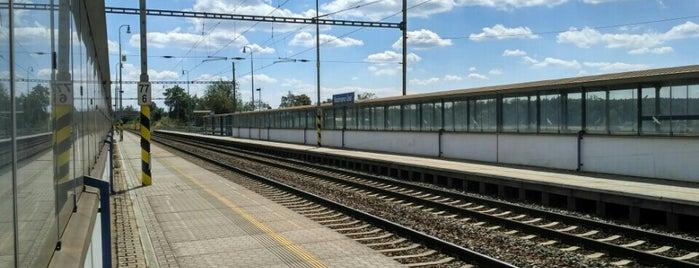 Železniční stanice Sezimovo Ústí is one of Místa s vysílači Numitor.cz.