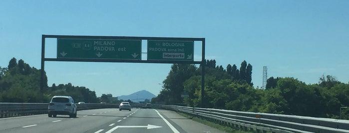A4 - A13 Torino-Trieste - Bologna-Padova is one of A4 Autostrada Torino - Trieste.