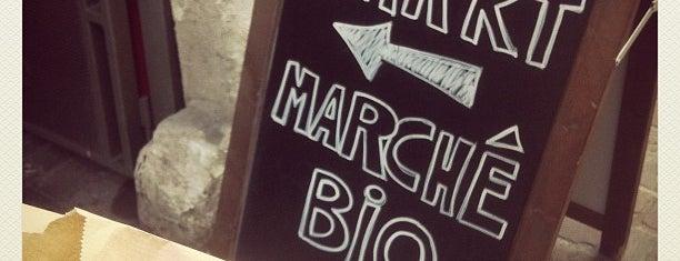 Marché Bio des Tanneurs is one of Bruxelles.