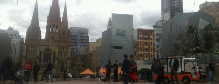 Federation Square is one of Destination of the Day.