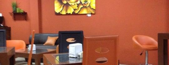 Baula's Café is one of mis lugares.