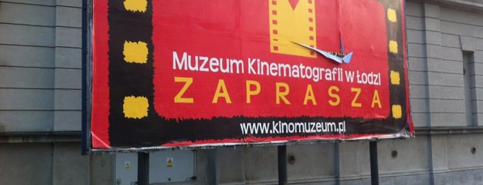 Muzeum Kinematografii is one of Amazing Lodz.