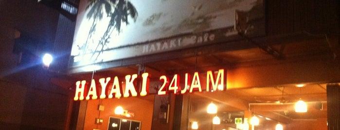 Hayaki Kopitiam is one of Cafe & Kopitiam.