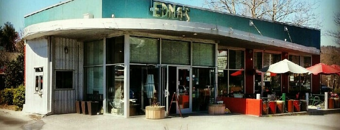 Edna's of Asheville is one of Asheville All-in-All.