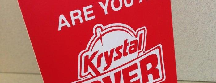 Krystal is one of Top 10 restaurants when money is no object.