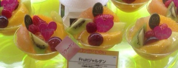 Takano Fruit Parlour is one of Tokyo cafe.