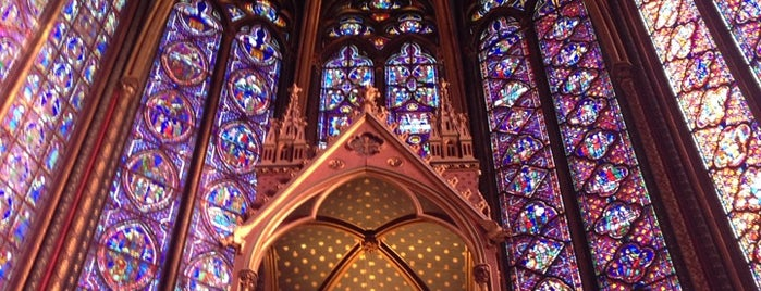Holy Chapel is one of First Time in Paris?.