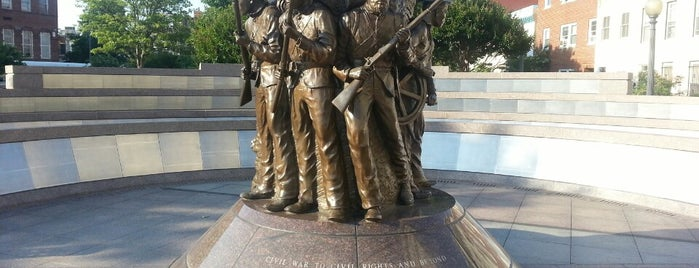 African American Civil War Memorial is one of Museums & History.