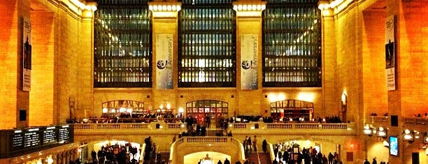 Grand Central Terminal is one of Check-In.