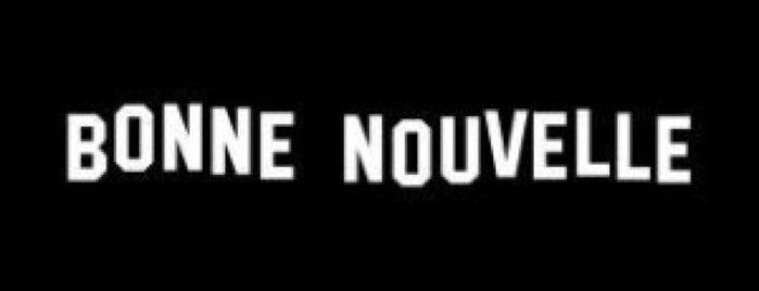 Boulevard de Bonne Nouvelle is one of Paris-to do.