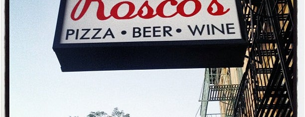 Rosco's Pizza is one of South Brooklyn.