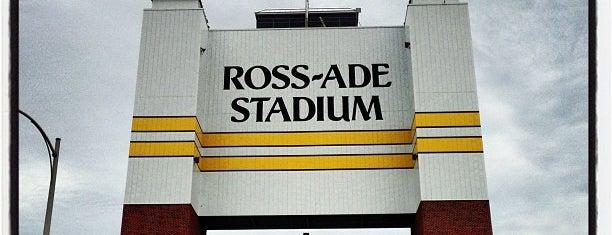 Ross-Ade Stadium is one of Big Ten Stadiums.