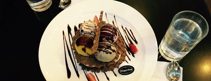 Haagen-Dazs is one of Food for Lakeside Taylorians!.
