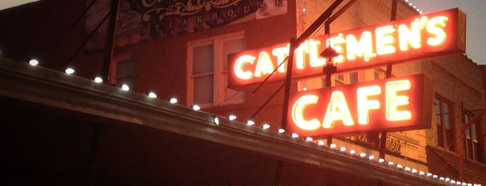 Cattlemen's Steakhouse is one of DINERS DRIVE-INS & DIVES.