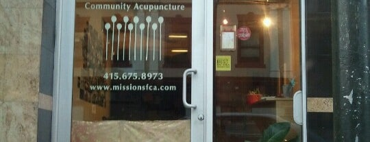 San Francisco Community Acupuncture is one of San Francisco City Guide.