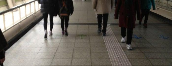 노원역 (Nowon Stn.) is one of Subway Stations in Seoul(line1~4 & DX).