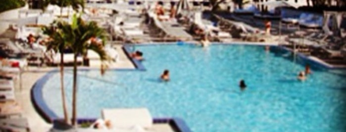 Ritz Carlton Pool is one of favoriteplaces.