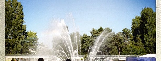 International Fountain is one of Seattle Tour #VisitUs.