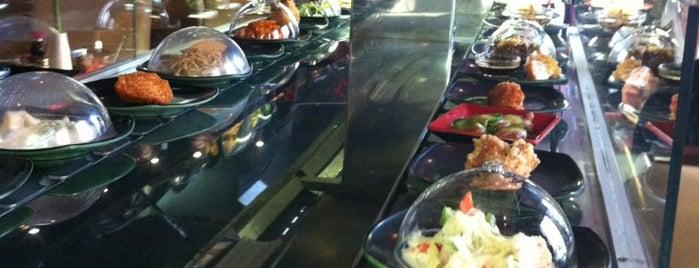 Wasabi Running Sushi & Wok Restaurant is one of Badge ¤ Bento.