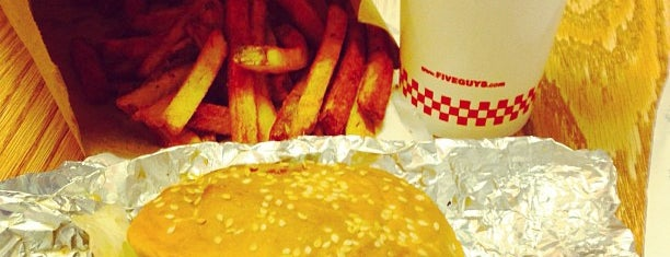Five Guys is one of I heart burgers!.