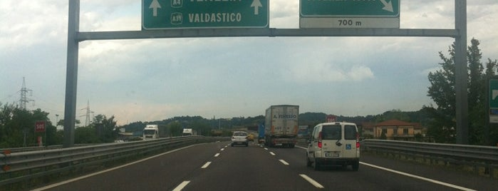 A4 - Vicenza Ovest is one of A4 Autostrada Torino - Trieste.