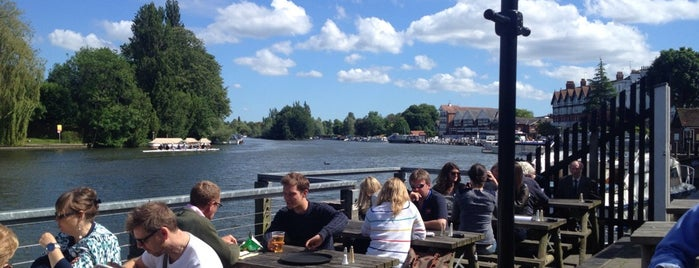 The Angel On The Bridge is one of Guide to Henley On Thames's best spots.