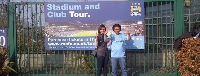 The Stadium and Club Tour is one of MCFC venues.