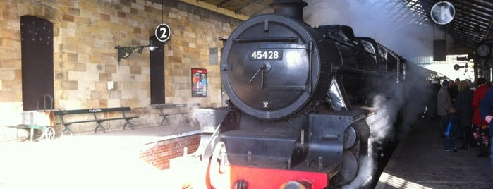 Pickering Railway Station (NYMR) is one of Harry Potter & The Mayor Of Diagon Alley.