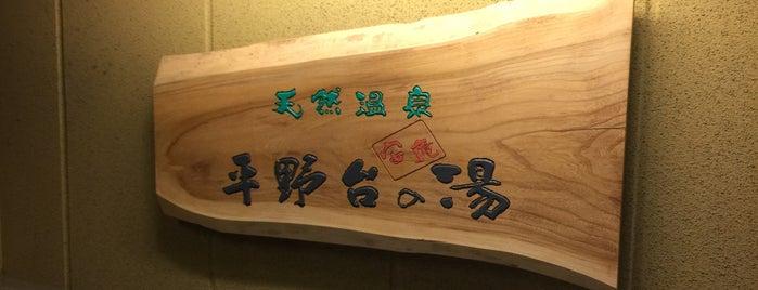 天然温泉 平野台の湯 is one of 日帰り温泉.