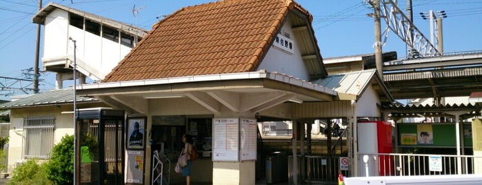 東佐野駅 (Higashi-Sano Sta.) is one of 阪和線.