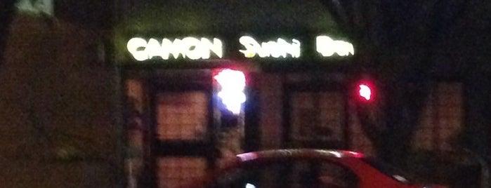 Camon Japanese Restaurant is one of CaffeinatedCAE.