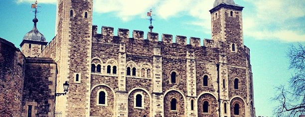 Tower of London is one of Must-visit Great Outdoors in London.
