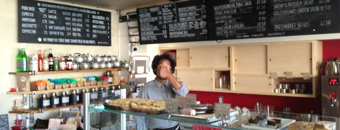 Paper Or Plastik Cafe is one of My favorite cafes of West Los Angeles.