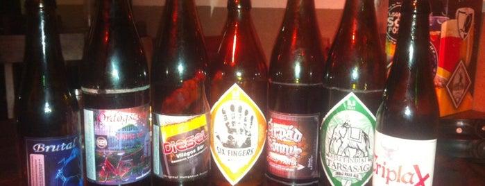Legenda Sörfőzde Pub is one of Legjobb cseh, belga és kézműves sörök!.