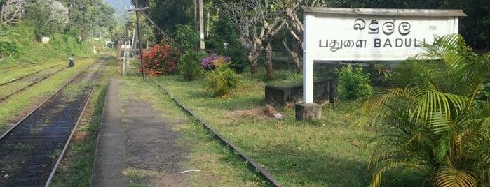 Badulla Railway Station is one of Railway Stations In Sri Lanka.