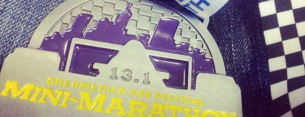 OneAmerica 500 Festival Mini Marathon is one of To SU.