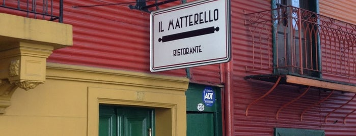 Il Matterello is one of my b.a..