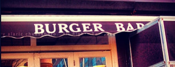 Joy Burger Bar is one of Manhattan.