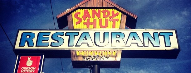 Sandy Hut is one of PDX To-Do.