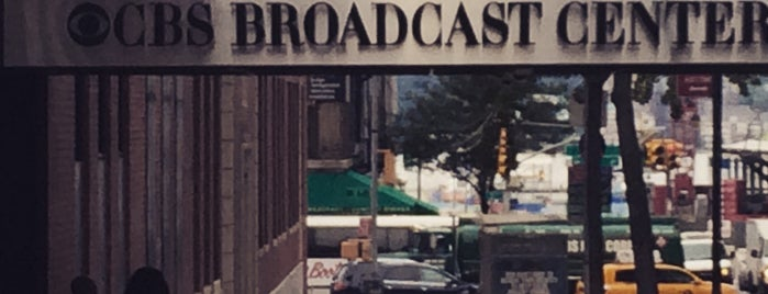 CBS Broadcast Center is one of NYC_trip.