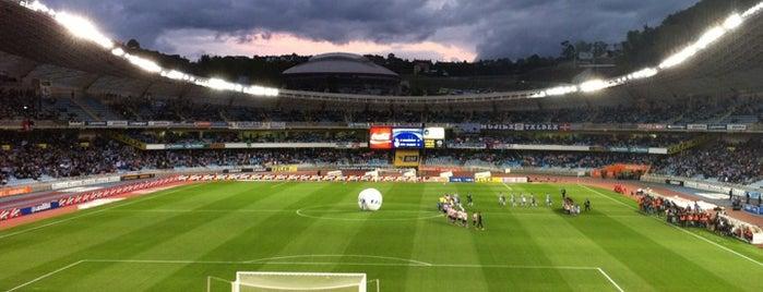 Estadio Municipal de Anoeta is one of Stadiums.